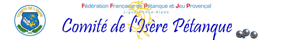 Comité de l'Isère Pétanque